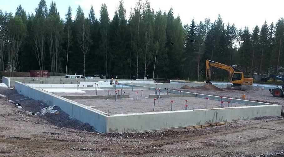 Hiidenhovin hoivakodin rakennustyöt ovat käynnistyneet Vihdin Nummelassa